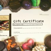 Beacon Hill Chocolates Gift Certificate