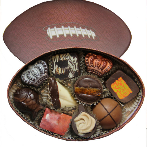 Football Box 10 Piece Assortment 1