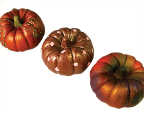Hand Painted Pumpkins 1