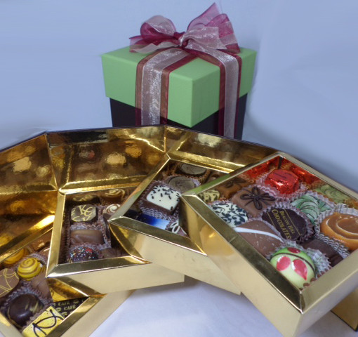36 Piece Chocolate Cube 1