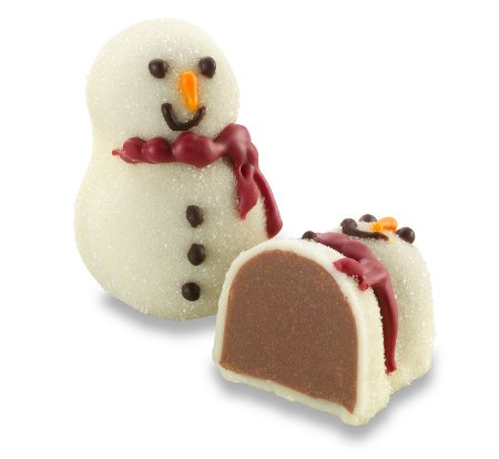 Milk Chocolate Cranberry Snowman 1