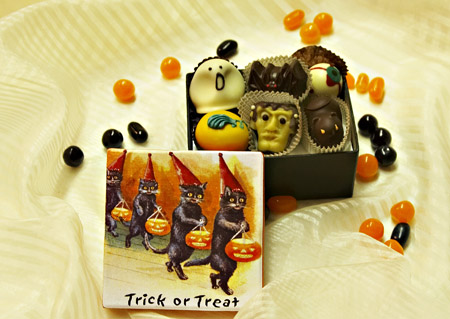 Trick or Treat Black Cats 1